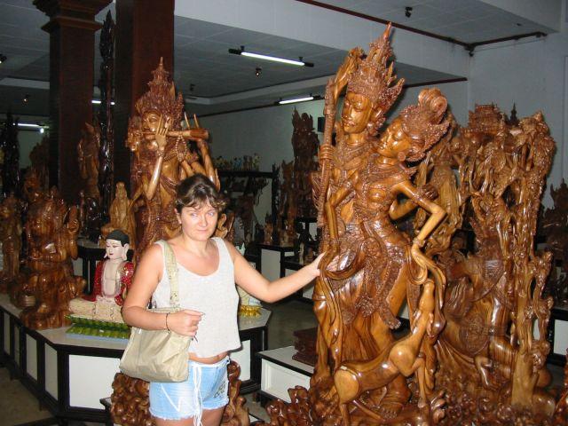 Резьба по дереву - скульптуры