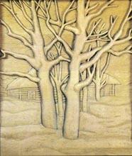 Плоская резьба по дереву
