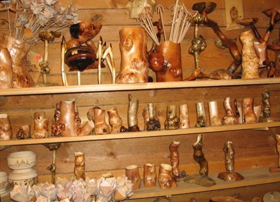 сувениры из карельской березы